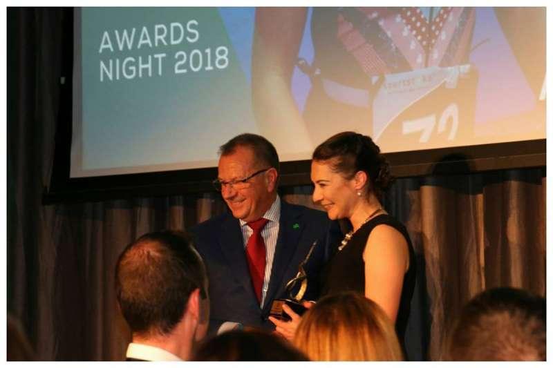 Photo of Aine wins 'Spirit of Triathlon' award