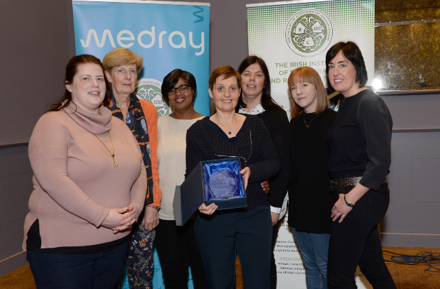 Photo of Roscommon radiographer award