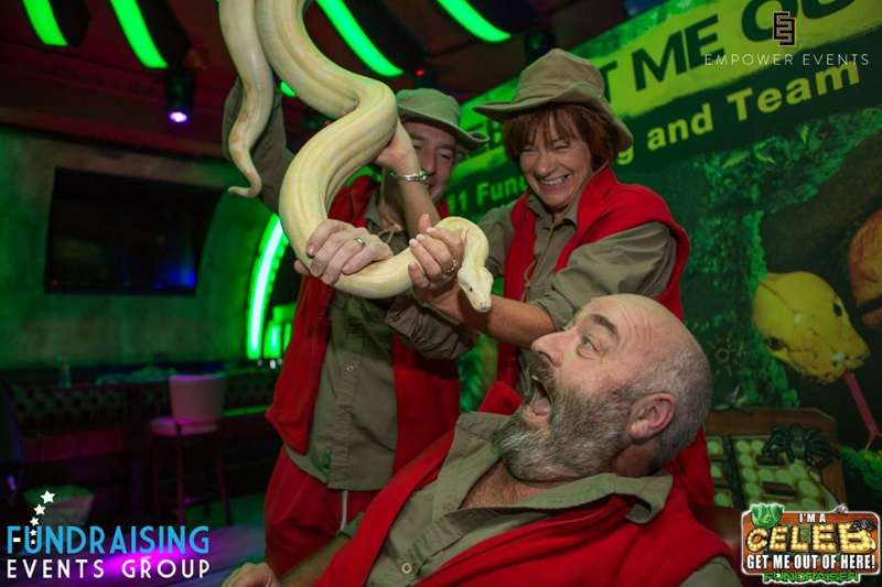 Photo of 'I'm a Celebrity' launch on Friday