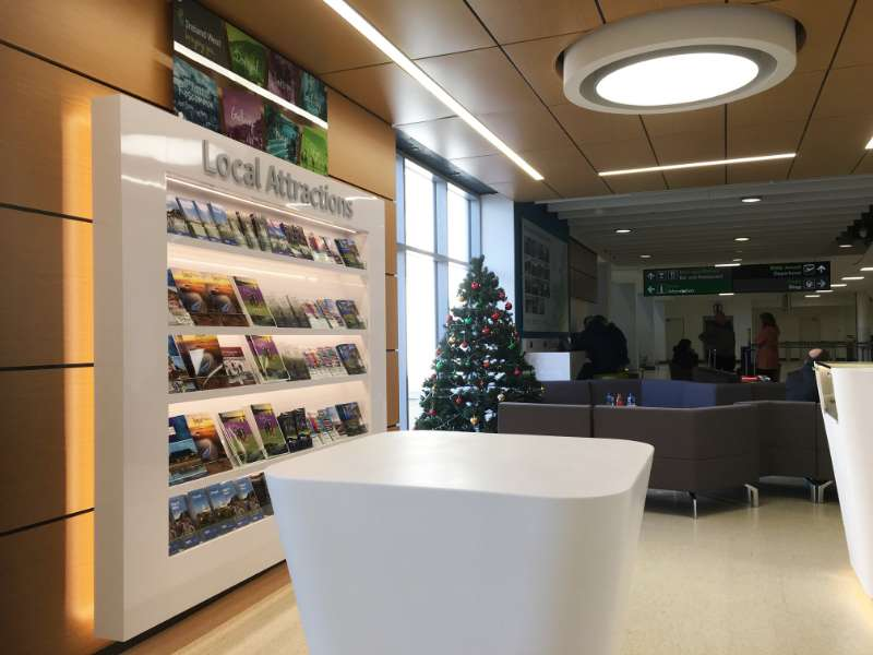 Photo of New Visitor Centre at Knock Airport