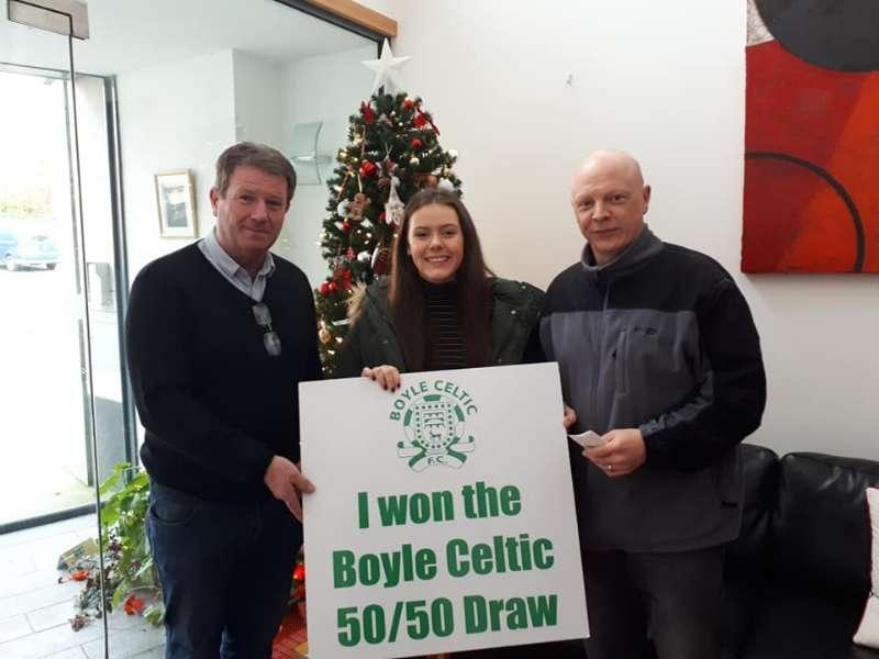 Photo of Ciara wins €1655 Boyle Celtic draw