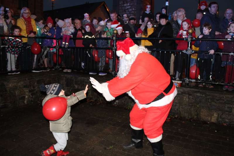 Photo of Santa will light up Boyle on Saturday