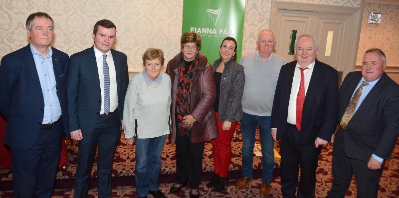 Photo of Large crowd at Fianna Fail CDC