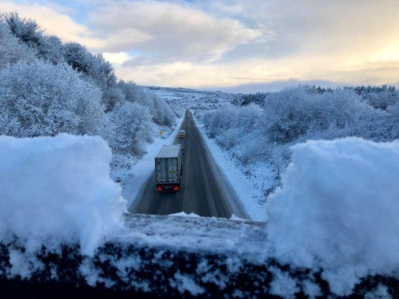 Photo of Snow and ice warning issued for County Roscommon