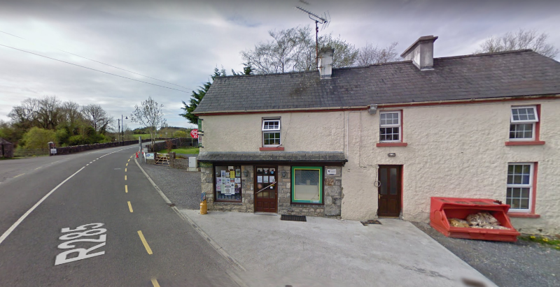 Photo of Knockvicar Post Office closes today