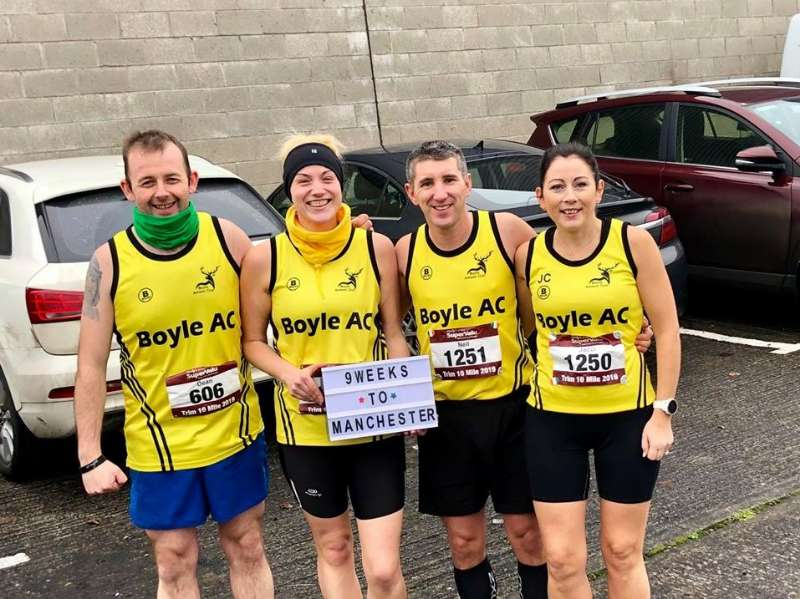 Photo of Boyle AC members travel to Trim