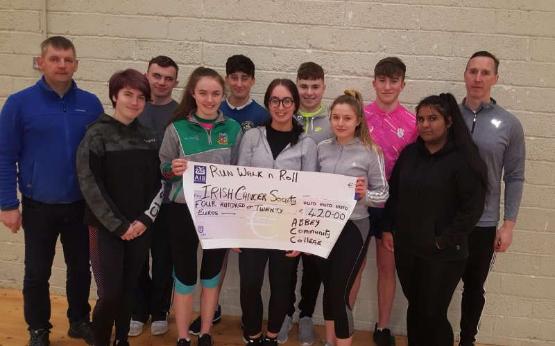 Photo of Students v Teachers match raises €450