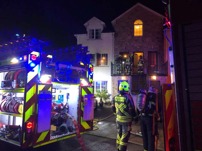 Photo of Fire damages apartment in Boyle