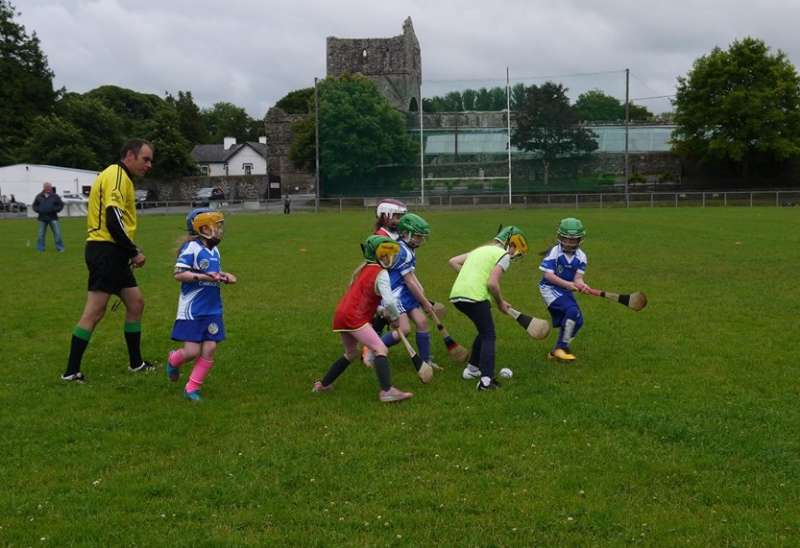 Photo of Camogie club training tonight