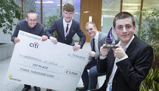 Photo of Boyle student's project wins bursary