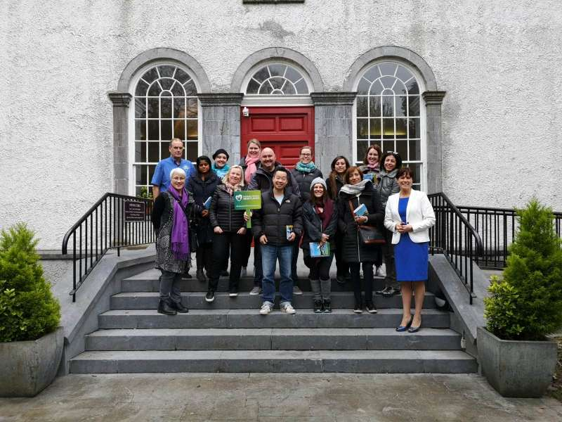Photo of International tour operators visit Boyle