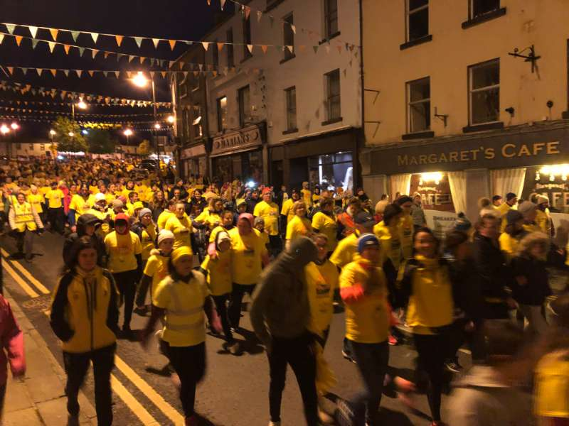 Photo of Boyle Darkness into Light walk held