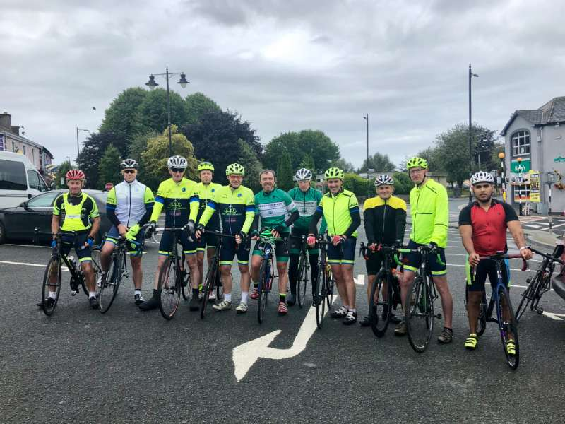 Photo of Cycling club 'donation spin' on Saturday