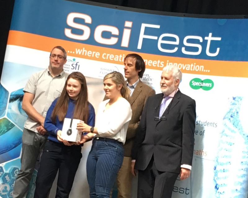 Photo of ACC students at Sligo IT Scifest