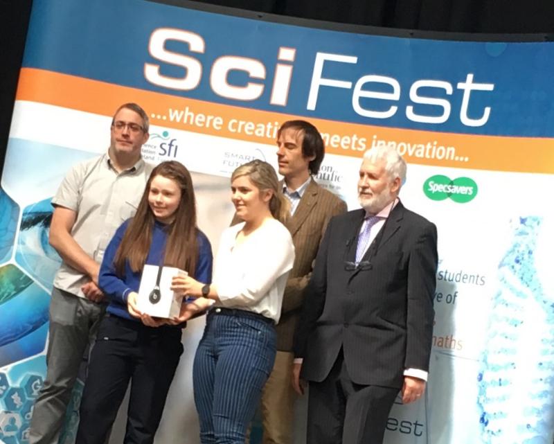 Photo of ACC students at Sligo IT Scifest