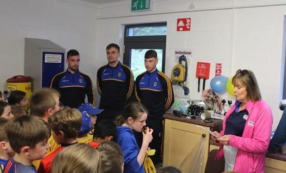 Photo of Nestor Cup visits Boyle's Abbey Park