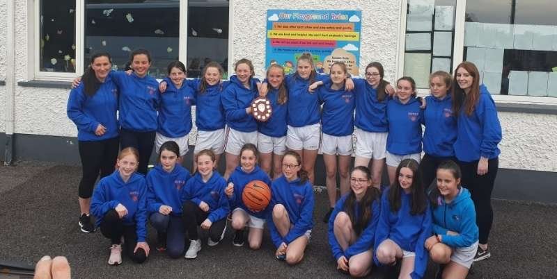 Photo of Scoil na nAingeal Naofa's double