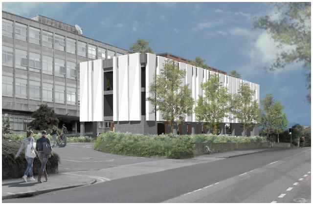 Photo of 46 bed extension to Sligo Hospital