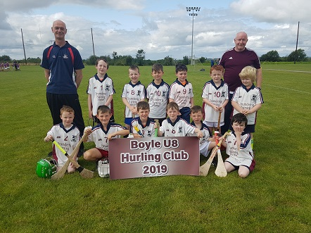 Photo of Boyle hurling team in blitz