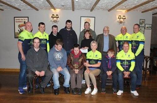 Photo of Cheque presentation in Boyle