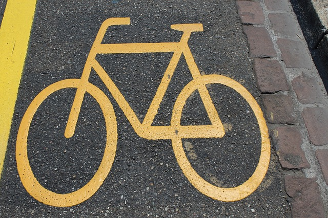 Photo of Cycle path road safety measure