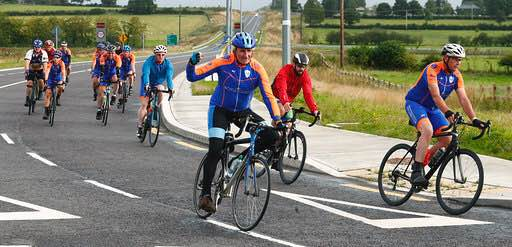 Photo of Boyle men cycle to Rock of Gibraltar