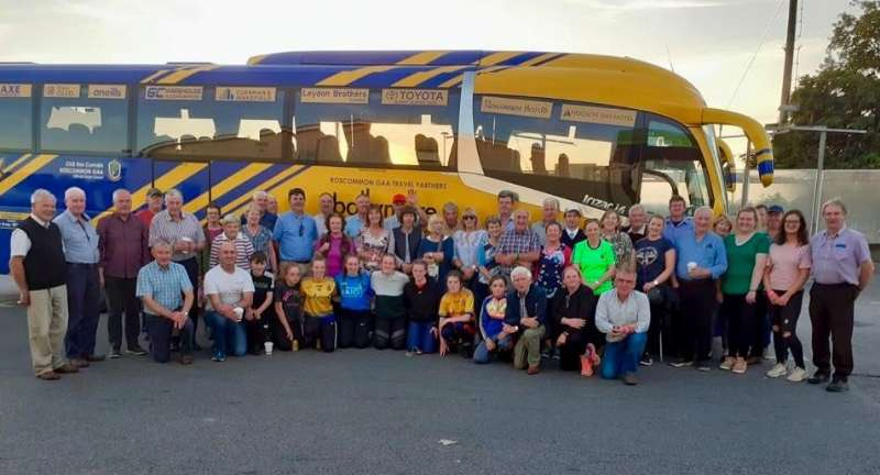 Photo of Boyle GAA trip to the Ploughing