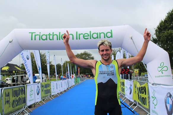 Photo of Westport man wins Lough Key Tri