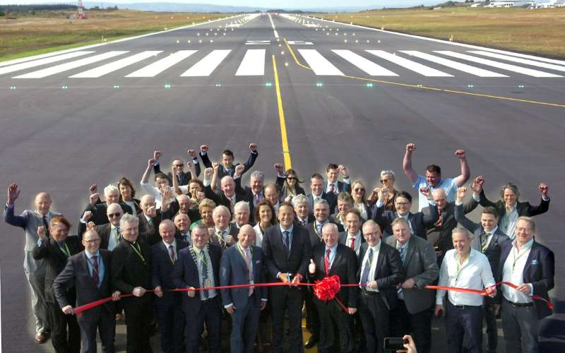 Photo of Resurfaced runway at IWAK opened