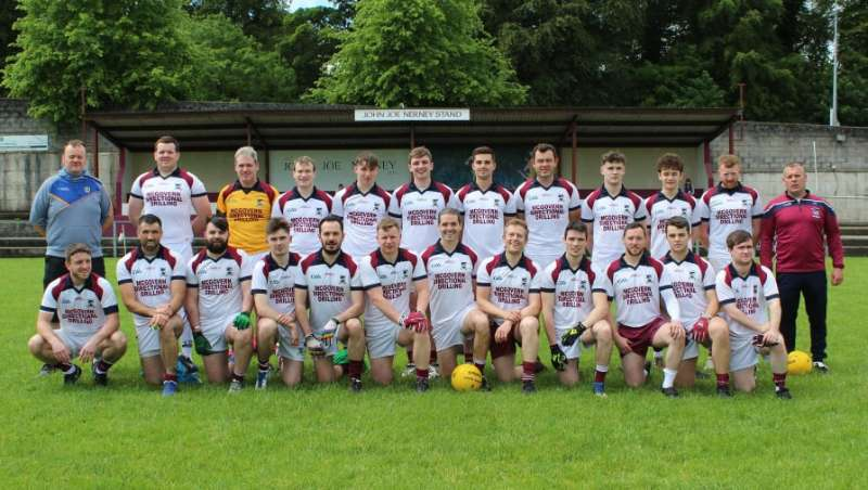 Photo of Boyle junior team in semi final