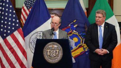 Photo of Boyle man addresses NYC Council