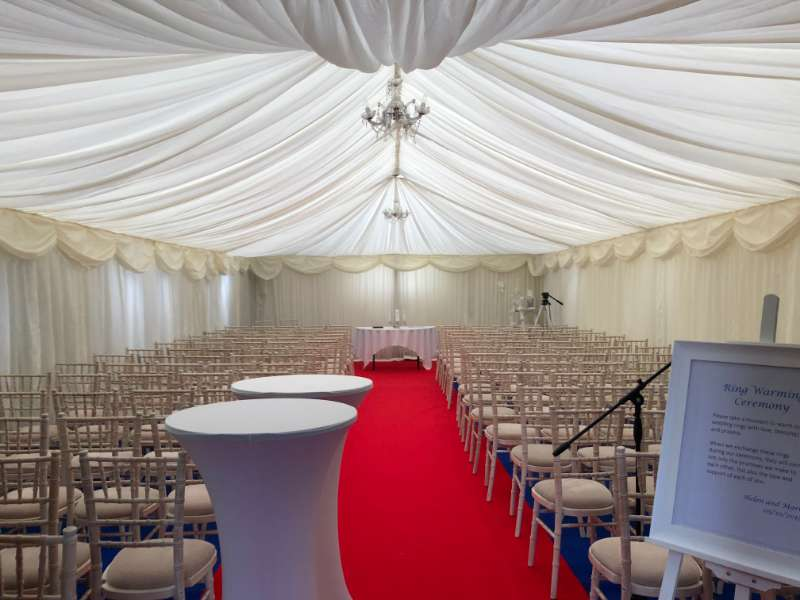Photo of Wedding held in Rockingham church