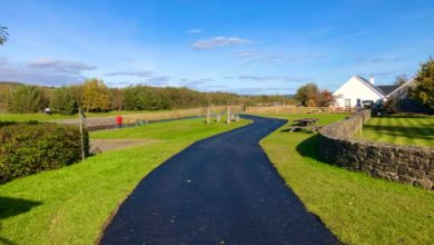 Photo of Macadam overlay to take place on Drum section of Cycleway