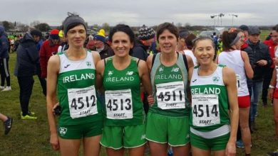 Photo of Silver medal for Boyle's Michelle Lannon