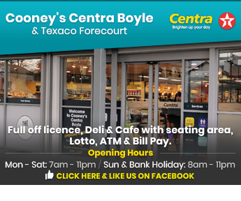 Cooney's Centra, Boyle