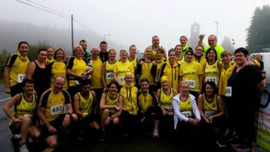 Photo of Stonepark Challenge organisers say 'Thank You'