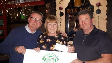 Photo of Anna wins another Boyle Celtic draw