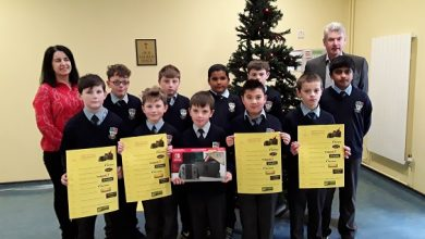 Photo of St Joseph's B.N.S. annual draw launched