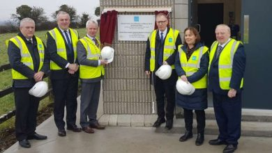 Photo of Grangemore water supply extension opened