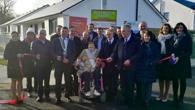 Photo of 10 new homes officially opened in Boyle