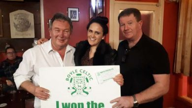 Photo of Cliona wins 'Celtic 50/50 draw