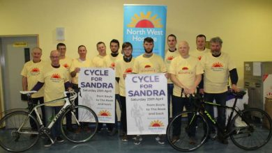 Photo of 'Cycle for Sandra' postponed
