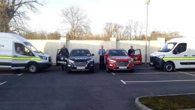Photo of New Garda vehicles now in use