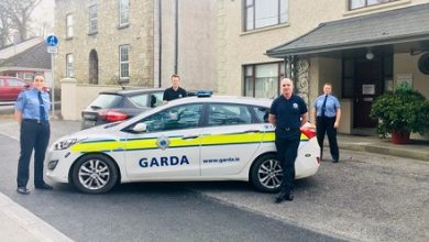 Photo of Community Gardai assist at Boyle FRC