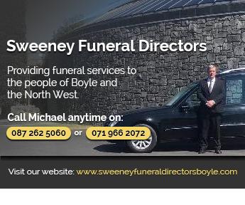 Sweeney Fnueral Directors, Boyle