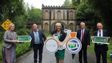 Photo of €20,000 in funding for Lough Key to Boyle cyclepath