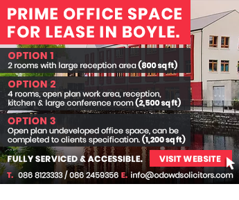Prime Office Space for Lease in Boyle